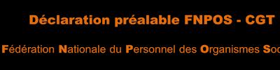 Déclaration préalable FNPOS – CGT à la Réunion Paritaire Nationale sur la classification du 27 octobre 2020